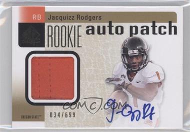 2011 SP Authentic - [Base] #223 - Jacquizz Rodgers /699