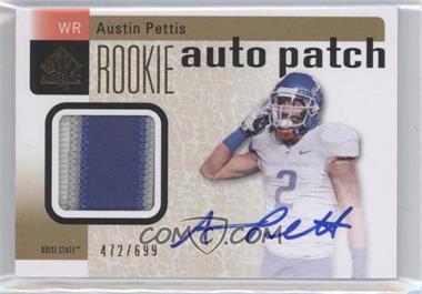 2011 SP Authentic - [Base] #228 - Austin Pettis /699