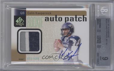 2011 SP Authentic - [Base] #233 - Colin Kaepernick /699 [BGS9]