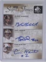 Blaine Gabbert, Cam Newton, Jake Locker /5