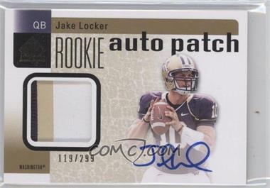 2011 SP Authentic #201 - Jake Locker /299