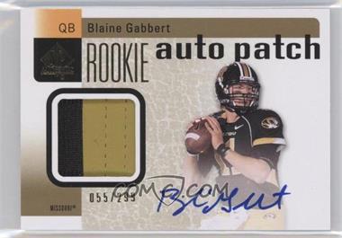 2011 SP Authentic #205 - Blaine Gabbert /299