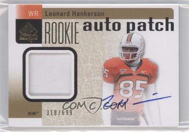 2011 SP Authentic #212 - Leonard Hankerson /699