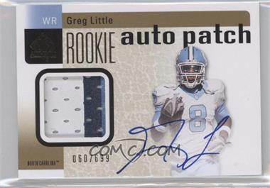 2011 SP Authentic #219 - Greg Little /699