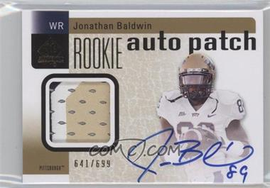 2011 SP Authentic #224 - Jonathan Baldwin /699