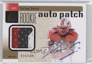 2011 SP Authentic #227 - Torrey Smith /699
