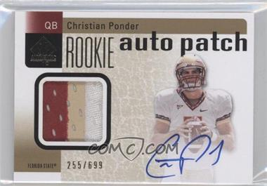 2011 SP Authentic #229 - Christian Ponder /699