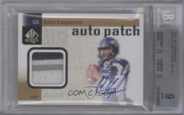 2011 SP Authentic #233 - Colin Kaepernick /699 [BGS 9]