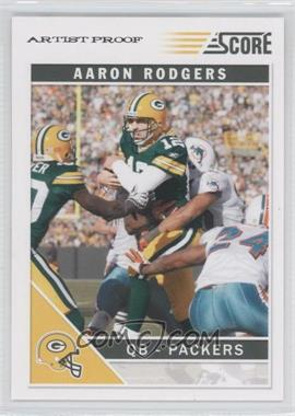 2011 Score Artist Proof #103 - Aaron Rodgers