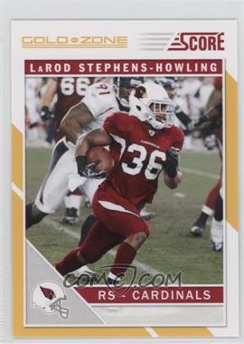 2011 Score Gold Zone #6 - LaRod Stephens-Howling
