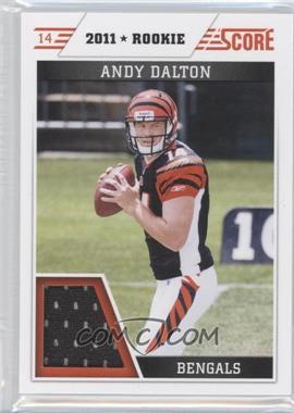 2011 Score Retail Factory Set Jerseys #AD - Andy Dalton