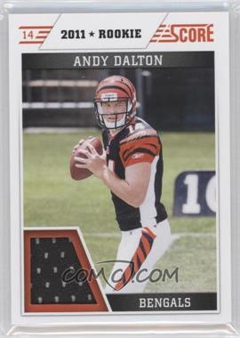 2011 Score Retail Factory Set Jerseys #AD - Andy Dalton