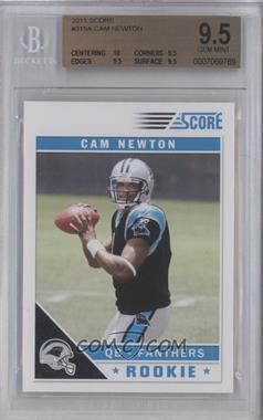 2011 Score #315 - Cam Newton [BGS9.5]