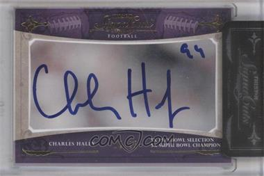 2011 TRISTAR SignaCuts Gold #CHHA - Charles Haley /25