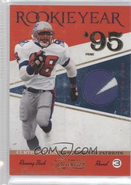2011 Timeless Treasures - Rookie Year Materials - Prime #7 - Curtis Martin /25