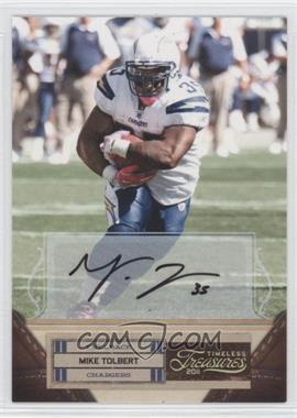 2011 Timeless Treasures Gold Signatures [Autographed] [Memorabilia] #70 - Mike Tolbert /25
