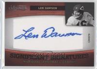 Len Dawson /37