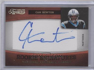 2011 Timeless Treasures Silver #142 - Cam Newton /25