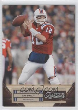 2011 Timeless Treasures Silver #96 - Tom Brady /99