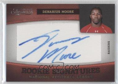 2011 Timeless Treasures #156 - Denarius Moore /264
