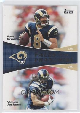 2011 Topps - Faces of the Franchise #FF-BJ - Sam Bradford, Steven Jackson