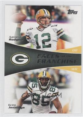 2011 Topps - Faces of the Franchise #FF-RJ - Aaron Rodgers, Greg Jennings