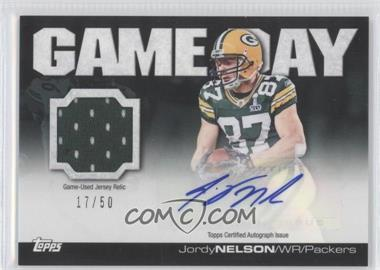 2011 Topps - Game Day - Relics Autographs [Autographed] [Memorabilia] #GDAR-JN - Jordy Nelson /50