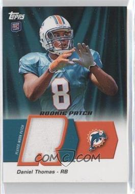 2011 Topps - Rookie Patch #HRP-DT - Daniel Thomas