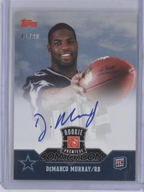 2011 Topps - Rookie Premiere Autographs #RP-DM - DeMarco Murray /90