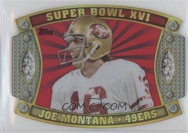 2011 Topps - Super Bowl #SB-20 - Joe Montana