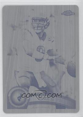 2011 Topps Chrome - [Base] - Printing Plate Black #21 - Matt Schaub /1