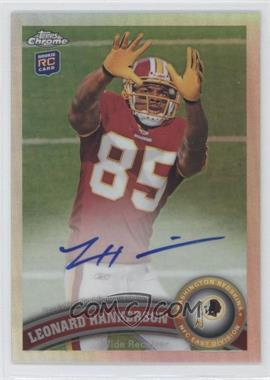 2011 Topps Chrome - [Base] - Refractor Rookie Autograph [Autographed] #111 - Leonard Hankerson /99