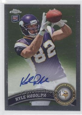 2011 Topps Chrome - [Base] - Rookie Autograph [Autographed] #203 - Kyle Rudolph