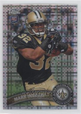 2011 Topps Chrome - [Base] - X-Fractor #50 - Mark Ingram