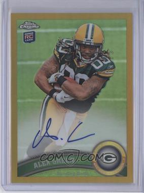 2011 Topps Chrome Gold Refractor Rookie Autograph [Autographed] #149 - Alex Green /10