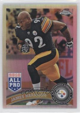 2011 Topps Chrome Refractor #52 - James Harrison