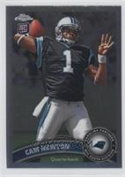 Cam Newton (throwing ball)