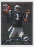 Cam Newton (throwing ball)