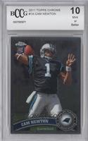 Cam Newton (throwing ball) [ENCASED]