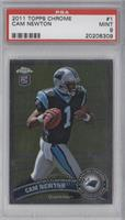 Cam Newton (Ball in Right Hand) [PSA 9]
