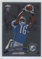 Titus Young (Ball Above Head)