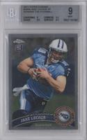 Jake Locker (Short Print: Running with Ball) [BGS 9]