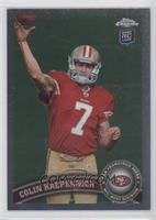 Colin Kaepernick (throwing ball)