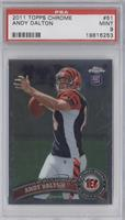Andy Dalton (ball in right hand) [PSA 9]