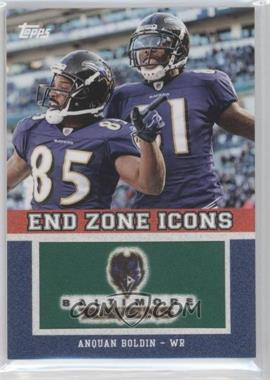 2011 Topps End Zone Icons #EZI-53 - Anquan Boldin