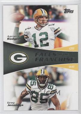 2011 Topps Faces of the Franchise #FF-RJ - Aaron Rodgers, Greg Jennings