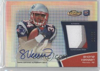 2011 Topps Finest Rookie Autograph Patch Blue Refractor #RAP-SV - Shane Vereen /75
