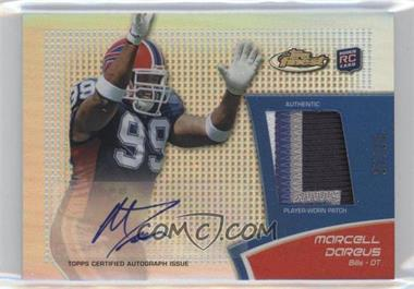 2011 Topps Finest Rookie Autograph Patch Gold Refractor #RAP-MD - Marcell Dareus /25