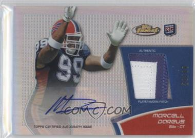 2011 Topps Finest Rookie Autograph Patch Refractor #RAP-MD - Marcell Dareus /99