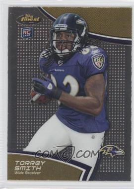 2011 Topps Finest #81 - Torrey Smith